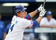삼성 박계범, 시즌 3호 홈런…KIA 외인 터너 공략