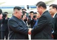 """김정은, 시진핑에 답전 """"북중 친선은 '전략적 선택'…발전시키자"""""""