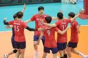 허수봉 맹활약, 남자배구 아시아선수권 4강
