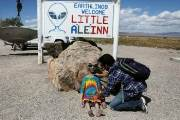 [서소문사진관]외계인을 찾아서...네바다 '51구역' 습격할까?