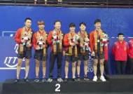 한국 탁구, '도쿄 전초전' 아시아선수권대회 메달 두 개로 마무리