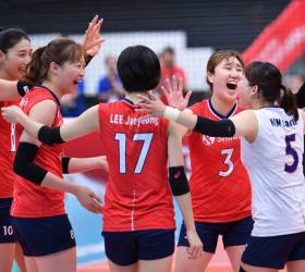 한국 女배구 <!HS>월드컵<!HE> 2연승… 진짜 신나는 건 흥국생명?