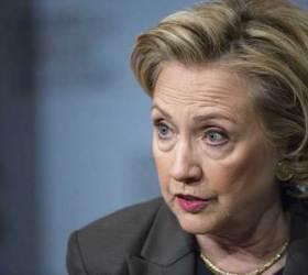 """'우크라 스캔들'에 <!HS>클린턴<!HE> """"트럼프, 美 배신…탄핵 지지한다"""""""