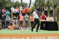 """샷 정확도가... '골프 장타왕' 알렌 """"코리안투어 쉽지 않네"""""""
