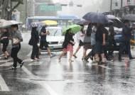 전남·경남·제주 일요일 아침까지 최고 60㎜ 비