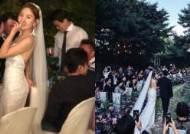"""최희서, 결혼식 사진 공개 """"꽃과 음악, 술과 사람들 무지하게 놀았다"""""""