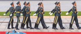 [사진] <!HS>열병식<!HE> 하루 전 베이징은 지금