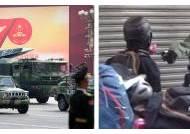 '中의 힘' 과시한 날, 홍콩선 경찰 총에 가슴맞은 18세 쓰러졌다