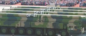 """<!HS>시진핑<!HE> """"중국이 세계 평화 수호"""" 미국 사정권 둥펑-41 공개"""