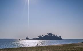 [권혁재 핸드폰사진관] 자줏빛 달이 뜨는 섬, 자월도
