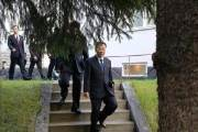 """북한 대표단, 北美실무협상장 출발…김명길 """"협상 두고 봅시다"""""""