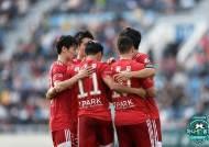 부산, 수원FC에 2-0 승리… 11G 연속 무패로 선두 광주 추격