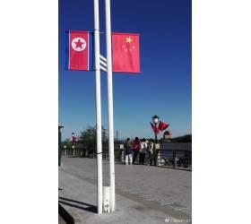 북·중 수교 70주년…<!HS>김정은<!HE>·시진핑 축전, 단둥 곳곳에 인공기