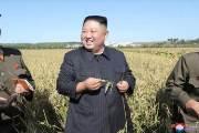 협상 결렬에도···28일만에 옥수수 들고 웃으며 나타난 김정은