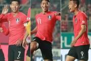 벤투호, 스리랑카에 5-0 리드 전반 마무리…손흥민·김신욱 2골씩