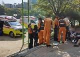 수원 고교 과학실 표본 깨져 포르말린 누출…850명 전원대피
