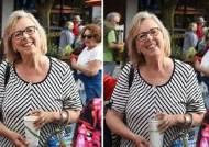 '종이컵' 포토샵 바꿔치기 들통···캐나다 녹색당 대표의 굴욕
