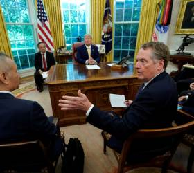 """트럼프에 불안한 <!HS>중국<!HE><!HS>,<!HE> """"<!HS>무역<!HE>전쟁 휴전이 종전으로 점프할 순 없어"""""""