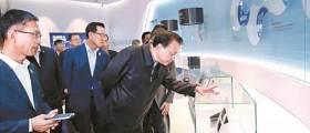 [사진] 리커창, 시안 <!HS>삼성<!HE>공장 방문
