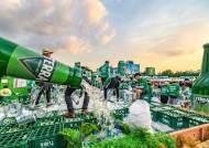 '테슬라'가 부른 '카스·테라' 전쟁···급한 오비맥주, 값 내렸다