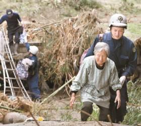 [사진] 일본 태풍 75명 사망 … <!HS>후쿠시마<!HE> 28명 최대