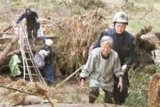 [사진] 일본 태풍 75명 사망 … 후쿠시마 28명 최대