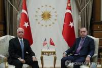 """펜스 美부통령 """"터키, 北시리아서 5일간 휴전 합의"""""""