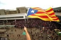 중국 아닌 스페인으로 수출된 홍콩의 공항 점거 시위 모델
