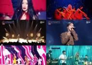 [리뷰IS] '퀸덤' 화사·Kei·유아, 유닛 1등..(여자)아이들·마마무·AOA 역대급 무대