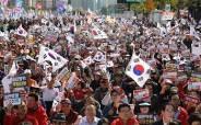 """한국당 광화문 집회 """"손흥민이 당했는데 남북올림픽이라니"""""""