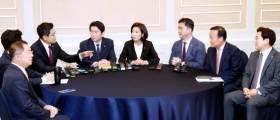 """선거법ㆍ<!HS>공수처<!HE>법 제자리걸음…이인영 """"불가피한 선택 고민"""""""