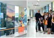 그림이 주는 '힐링'…국민대 교수·학생들, 서울대 암병원에 작품 전시
