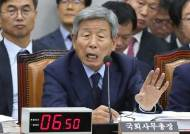 """강효상 """"패스트트랙 사보임은 국회법상 논란거리, 동의하나"""" 유인태 """"네"""""""