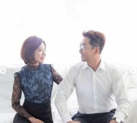 백성문 변호사-김선영 YTN 아나운서가 공개한 <!HS>웨딩<!HE>사진