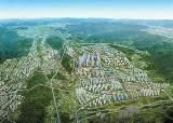 [분양 포커스] 4428가구 브랜드타운의 화룡점정 … 66평형대 복층 펜트하우스, 광폭 거실