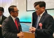 """일본 차산업협회장 """"한일간 정치상황 관계없이 자유무역해야"""""""