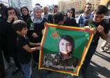 美 배신의 상징으로 떴다, 35세 쿠르드 여성 정치인의 죽음