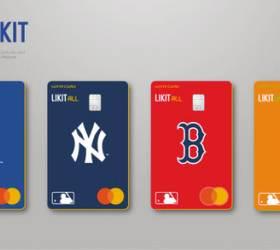 [함께하는 금융] 카드에 담은 <!HS>메이저리그<!HE> 야구 심벌…'LIKIT X MLB 스페셜 에디션'인기