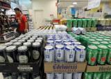 日맥주, 한국에 한달간 630만원치 팔았다…1년새 99.9%급감