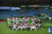 """'17세 월드컵 8강행' 리틀 태극전사, """"일본과 붙고싶다"""""""