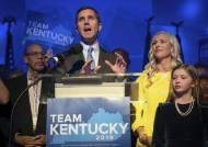 트럼프 2016년 30% 압승, 켄터키 주지사 민주 후보 앞섰다