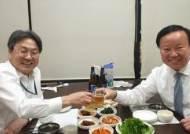 예결위 파행시킨 '버럭 강기정'…예결위원장과 한밤 맥주회동