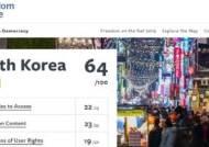 """美프리덤하우스 """"한국 인터넷 자유도 19위…페미니즘 지지하면 표적돼"""""""