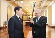 효성 조현준 회장, 멕시코 대통령 만나 복지 프로젝트 논의…ATM 8000대 수주