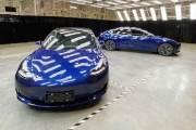 테슬라가 공개한 '메이드 인 차이나' 모델3…뒷면엔 '터쓰라'