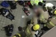 """""""홍콩 시위현장 인근 건물서 추락한 '머리 부상' 대학생 사망"""""""