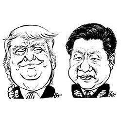 트럼프<!HS>,<!HE> <!HS>무역<!HE>타결 기싸움…시진핑 <!HS>미국<!HE> 불러 서명식?