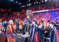 중국 PFX, 유럽 팬 함성을 잠재우다…파리 롤드컵 우승