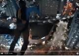 해운대 40층 빌딩서 점프…'낙하산 활강' 러시아인들 정체는