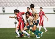 강릉시청-경주한수원, 공방전 끝에 0-0… 내셔널리그 챔피언은 2차전에서